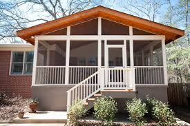 Shed Roof Screened Porch Small Carpenters At Large