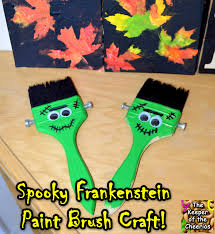 Craft Halloween by Spooky Franeknstein Paintbrush Craft