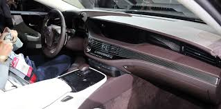 lexus ls interior 2017 lexus ls autonomous driving not a priority photos 1 of 8