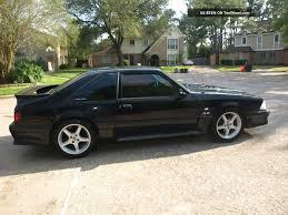 Black Gt Mustang 1991 Ford Mustang Gt Hatchback 2 Door 5 0l Mustang Photo