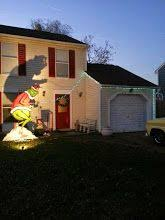 grinch christmas lights grinch stealing lights search winter roofs