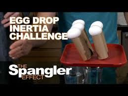 Challenge Drop On Egg Drop Inertia Challenge The Spangler Effect