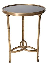 Mirrored Accent Table with Adorable Bamboo Side Table With Revelry Event Designers Round