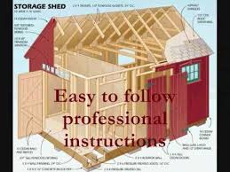 Diy Build A Shed Plans by How To Build A Shed
