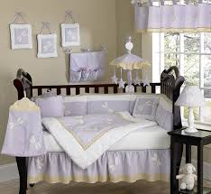 Lavender And Grey Crib Bedding Dragonfly Dreams Lavender Baby Bedding 9 Pc Crib Set Only 189 99
