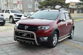 renault sandero stepway 2012 stainless steel chrome axle nudge a bar bull bar amazon co uk