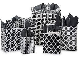 gift bags in bulk black geo graphics shopping bags from nashville wraps beautiful