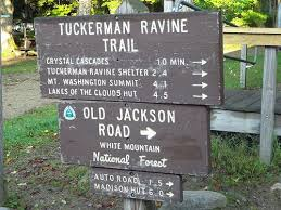 hike mt washington via the tuckerman ravine trail in pinkham notch