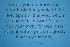 top 7 bible verses about taking care of your body