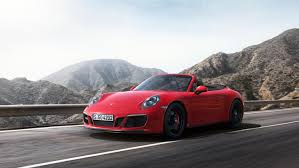 porsche convertible 4 seater the new porsche 911 gts models