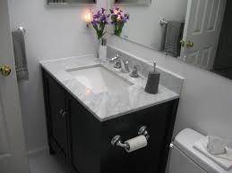 Carrara Marble Bathroom Countertops Home Decorators Collection 37 In W Marble Vanity Top In Carrara