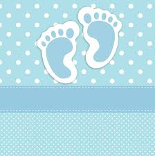 baby footprints card template u2026 pinteres u2026