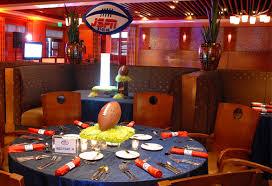 Football Centerpieces Football Bar Mitzvah