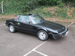 fiat convertible fiat x 1 9 bertone sports convertible 1986 at swva classic car auction
