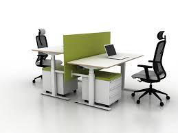 Office Desking X Two Seat Office Desk Desking Systems From Ergolain