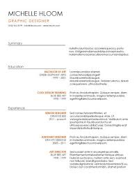 Odt Resume Template 15 Modern Design Resume Templates You Can Use Today