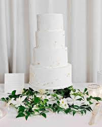 wedding cake greenery 62 fresh floral wedding cakes martha stewart weddings