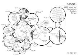hobbit hole floor plan floor plan dl 3602 monolithic dome institute xanadu dome home