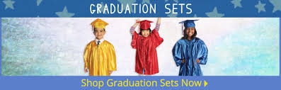 kindergarten cap and gown caps and gowns kids graduation s