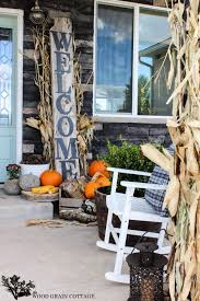Fall Porch Decorating Ideas Fall Porch Decorating Idea Diy Fall Curb Appeal