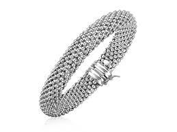 bracelet mesh silver sterling images Stupefying sterling silver mesh bracelet john greed jewellery 7 jpg
