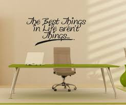 vinyl wall decal sticker best thing in life aren t things os aa1501