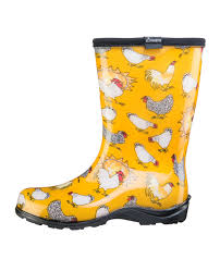 womens boots yellow fashion boots by sloggers waterproof comfortable and