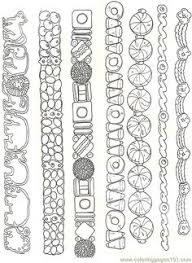 free printable coloring image gingerbread house parts reversed