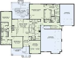 grilling porch european house plan chp 54419 at coolhouseplans com