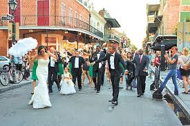 second line wedding a guide to wedding second lines new orleans weddings gambit