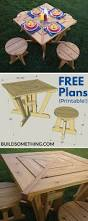 Free Plans For Outdoor Picnic Tables by 116 Best Picnic Tables Images On Pinterest Picnics Wood And