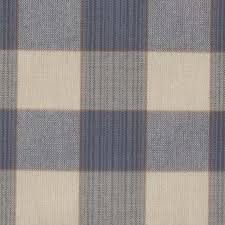 Traditional Upholstery Fabrics Mariefred Blue And White Checked Fabric Traditional Upholstery