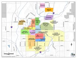 Map Of Sd Neighborhoods City Of Sioux Falls