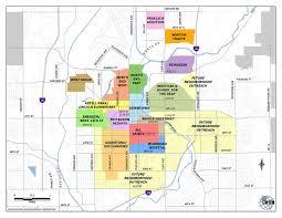 Neighborhood Map Neighborhoods City Of Sioux Falls
