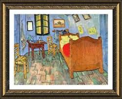 bedroom in arles framed poster bedroom at arles vincent van gogh oil paintings prints