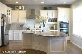 Kitchen Wall Paint Color Ideas Kitchen Makeover 1 1 Painting The Cabinets Because I Like To