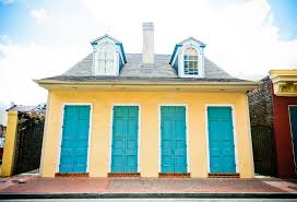 new orleans colorful houses house in new orleans french quarter stock image image of