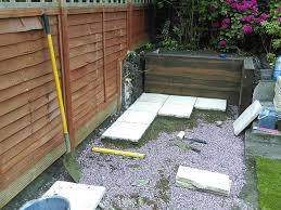 Laying Patio Slabs Challenging Garden Landscaping Project In Wimbledon