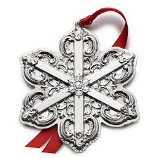 wallace grande baroque snowflake 2016 wallace ornament