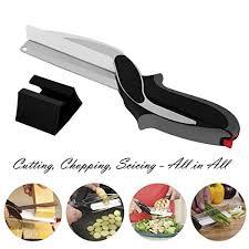 cutter de cuisine clever alimentaire chopper cutter 2 en 1 remplacer vos couteaux de