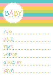 free baby shower invitation templates u2013 gangcraft net
