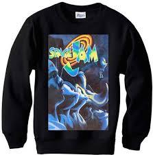 space jam sweater space jam vintage spike michael mars blackmon sweater
