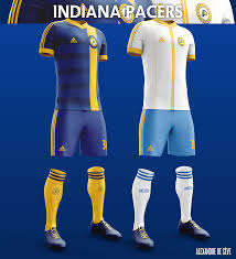 jersey design indiana pacers football kits on behance