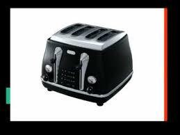Deloghi Toaster De U0027longhi Toaster Reviews Youtube