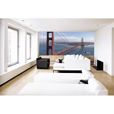 golden gate bridge paste the wall mural by brewster 99082 used by the worlds most renowned designers these artistically crafted wall murals will add a touch of class to any decor create your own scenic outdoor