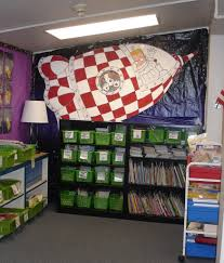 Wall Decoration For Preschool by Classroom Space Bulletin Board Ideas