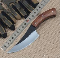 high carbon steel kitchen knives handmade high carbon steel cing knife fixed blade outdoor knife