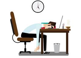Sleeping At Your Desk Falling Asleep At Desk Cartoon Hostgarcia
