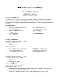 Bartender Resume Objective Examples by Resume Objective For Internship Resume For Your Job Application
