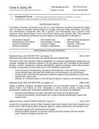 nurse resume description example nursing resume cover
